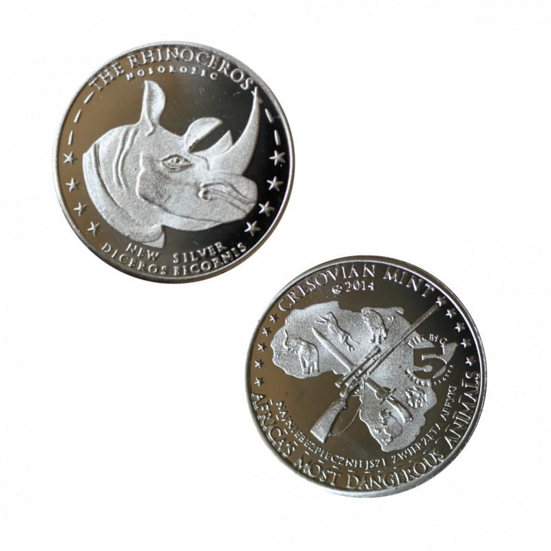 Nosorożec Nowe Srebro st. zwykły