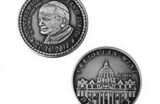 Jan Paweł II Nowe Srebro oksydowane st. zwykły  wersja eksportowa