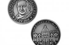 Jan XXIII Nowe Srebro oksydowane st. zwykły  wersja eksportowa