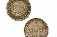 Jan Paweł II mosiądz patynowany st. zwykły wersja eksportowa