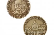 Jan XXIII mosiądz patynowany st. zwykły wersja krajowa