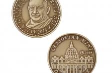Jan XXIII mosiądz patynowany st. zwykły wersja eksportowa