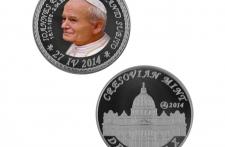 Jan Paweł II Nowe Srebro tampodruk st. zwykły wersja eksportowa