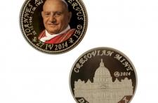 Jan XXIII mosiądz tampodruk st. zwykły wersja krajowa