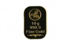 Złota sztabka 100 gram